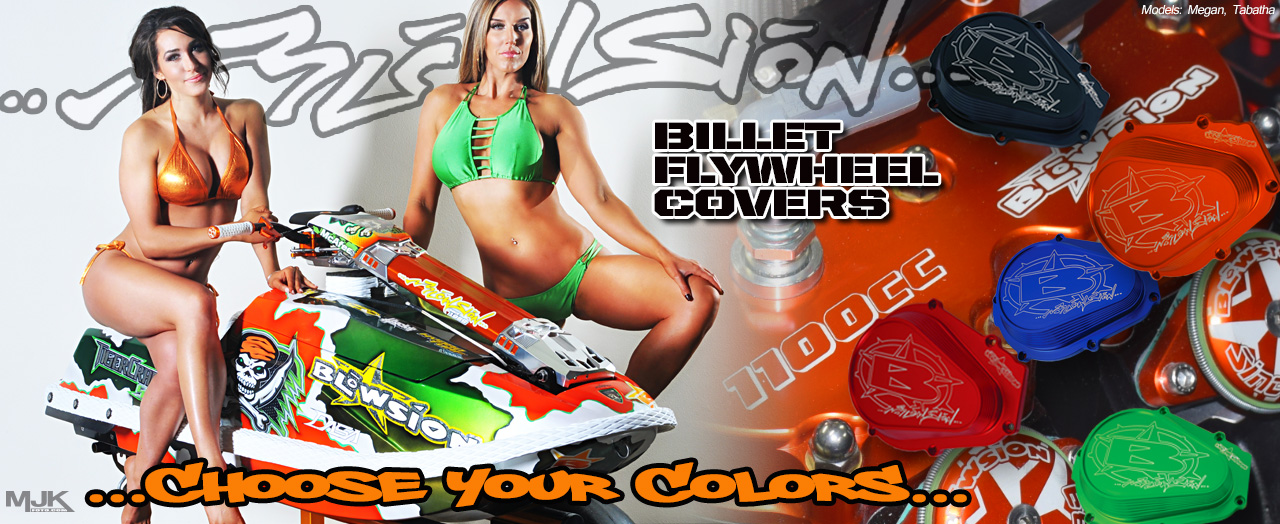Blowsion Billet Flywheel Covers
