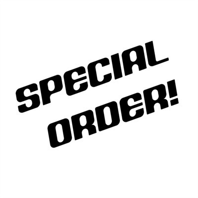 Special Order - Payment Info