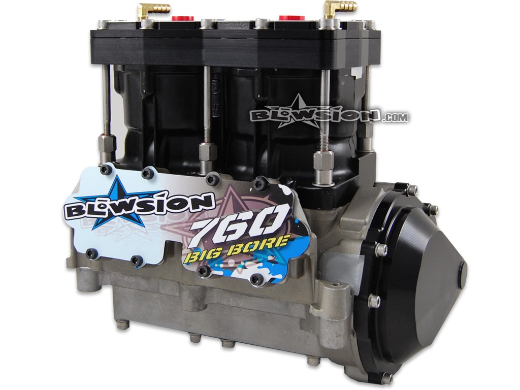 Blowsion blowsion big bore ported 760cc freeride engine for 97 yamaha waverunner 760 parts