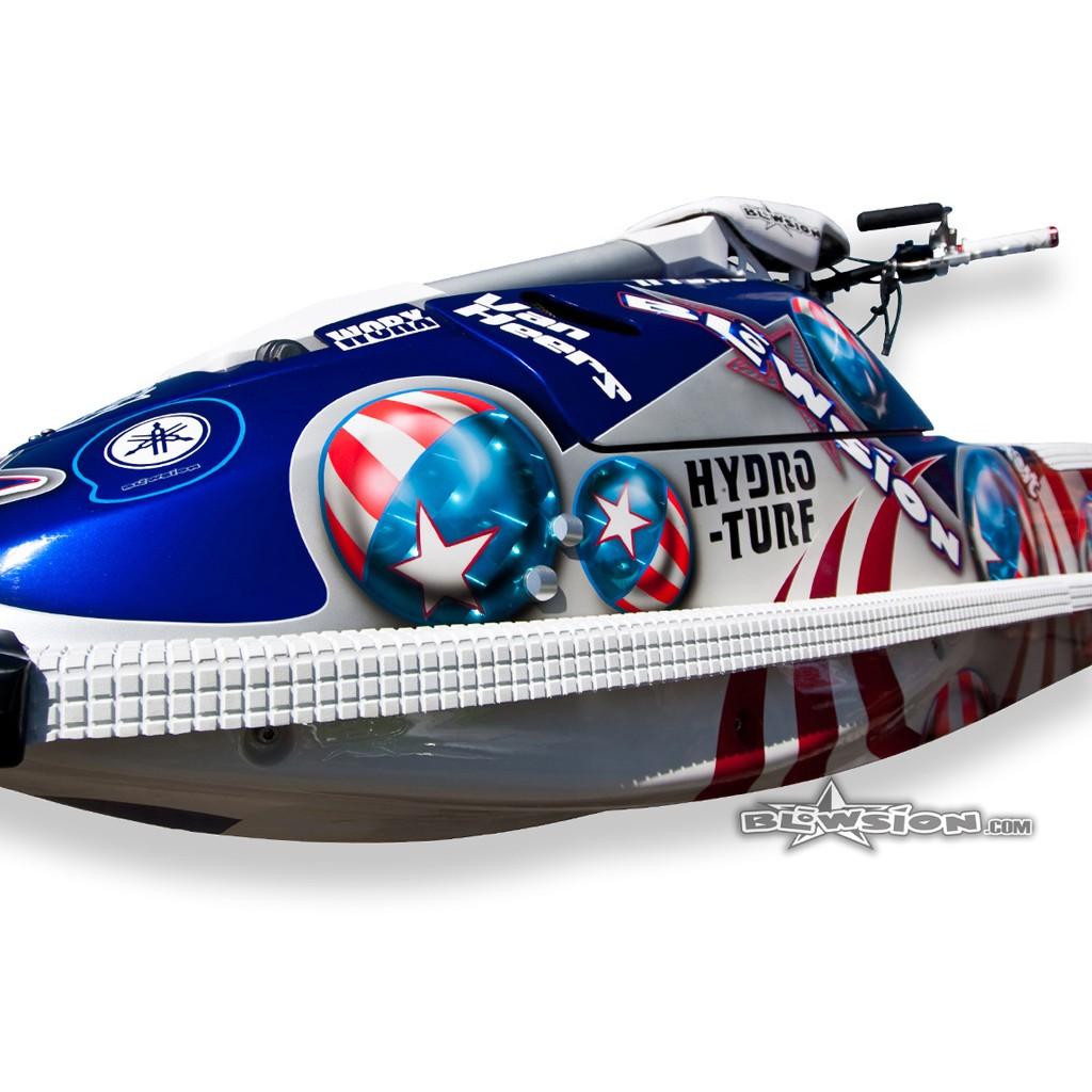 Kawasaki X Sponsons