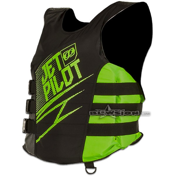 Blowsion Jetpilot Matrix Vest Green Jp17213