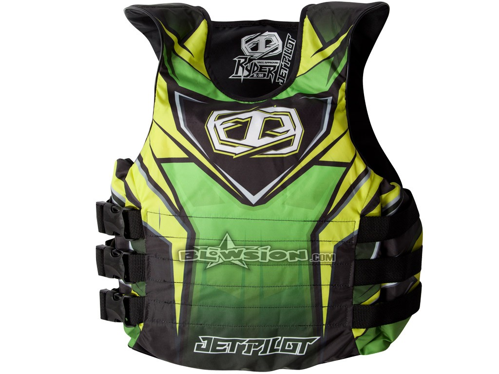 Blowsion Jet Pilot Ryder Vest Green Jp15213