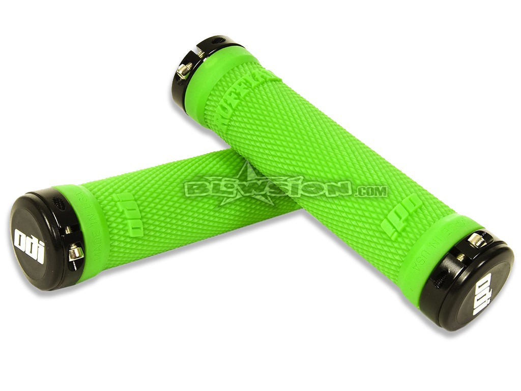 Replacement Grip Only Odi RUFFIAN Grips Odi Lockon Sys Ruffian Blk Mtn