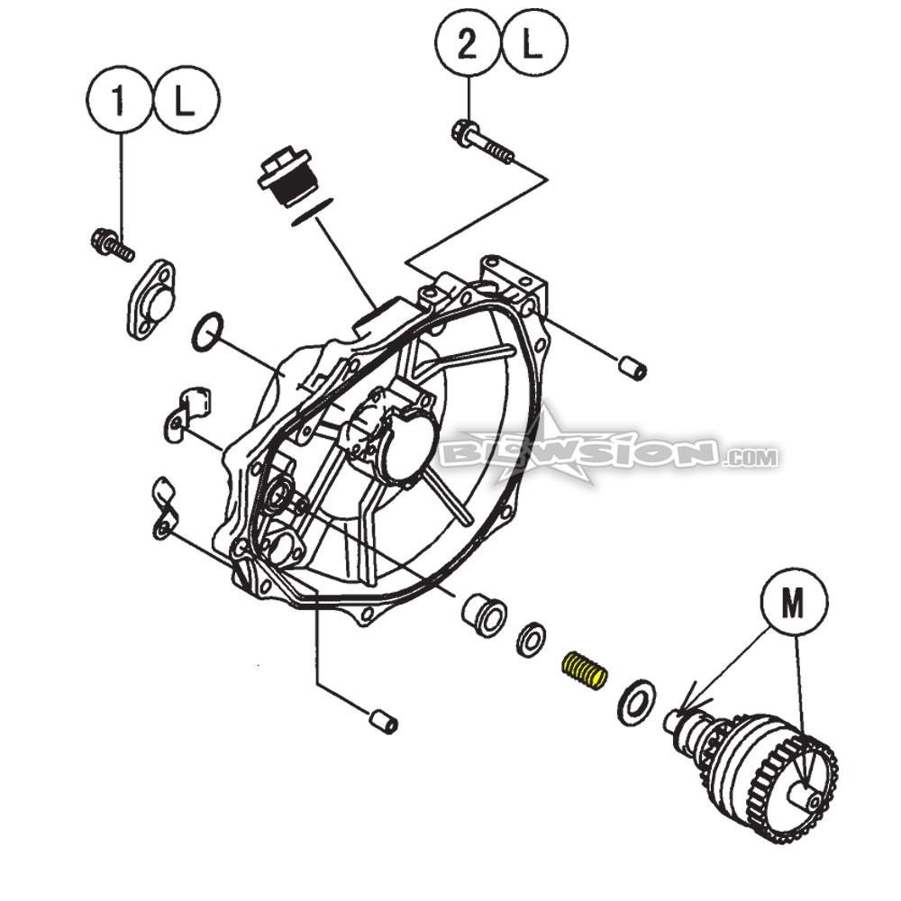 kawasaki sxi pro wiring diagram blowsion oem kawasaki starter bendix spring 92144 3728  blowsion oem kawasaki starter bendix