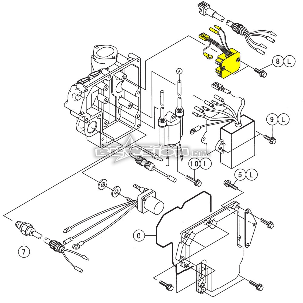 Blowsion Oem Kawasaki Voltage Regulator 21066 3709