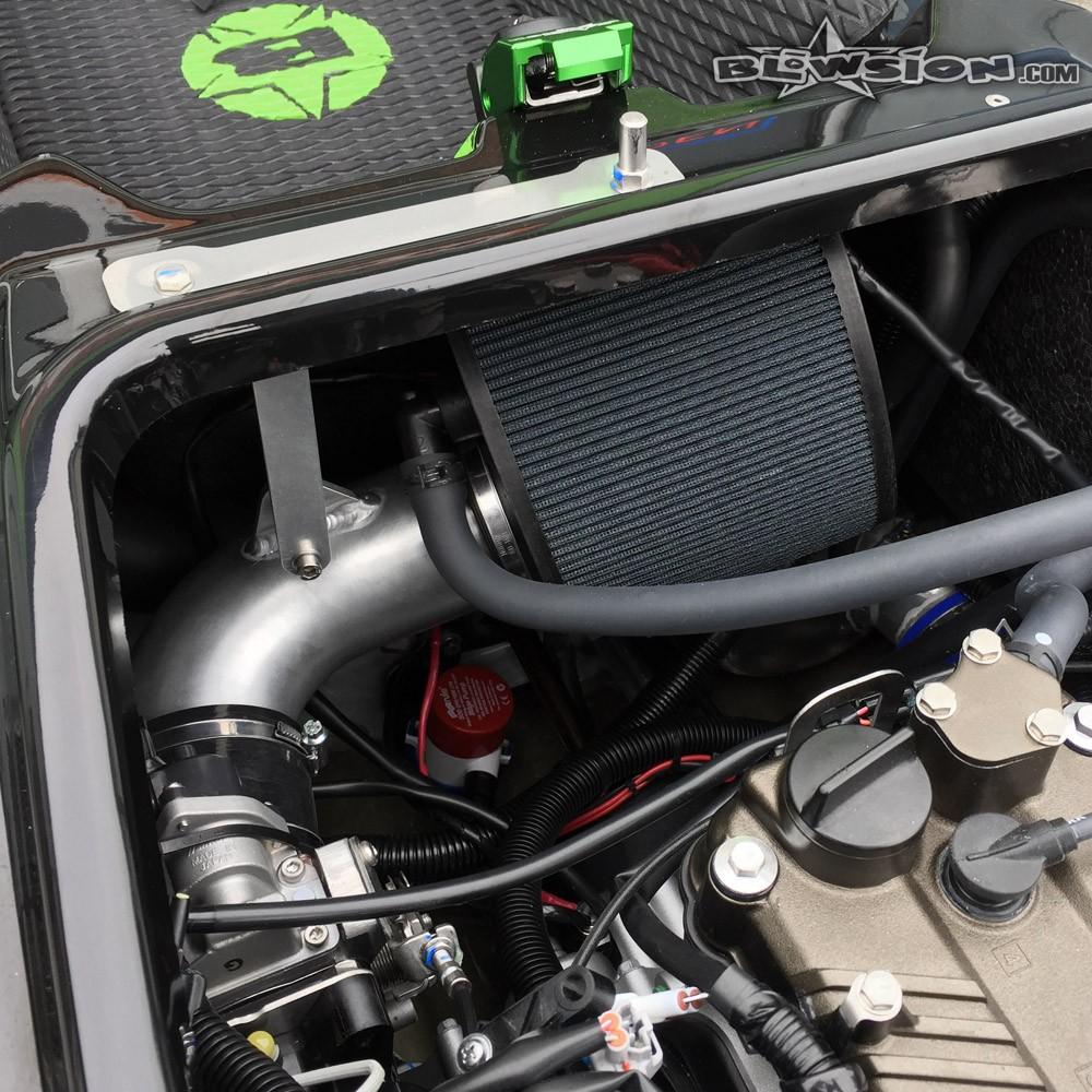 blowsion. r&d air filter kit - kawasaki sxr 1500