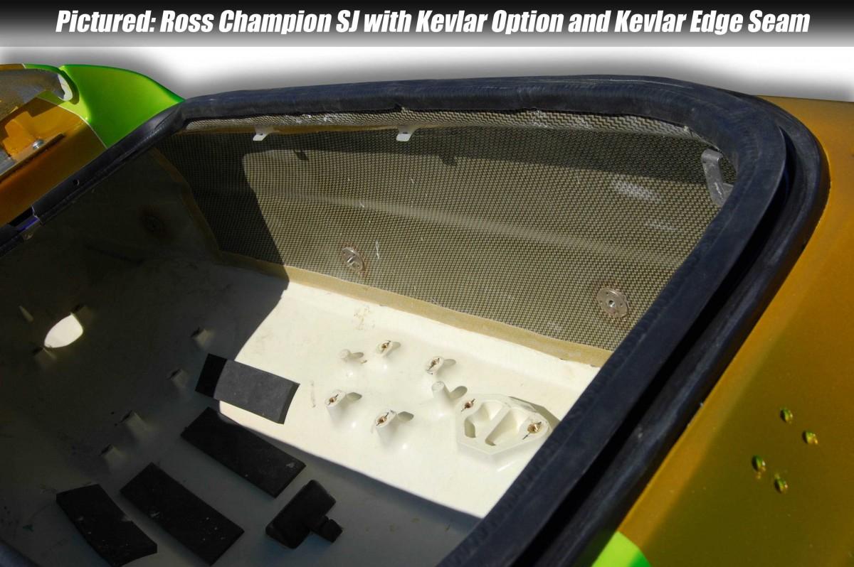 Hull Reinforcement Kit - Carbon Kevlar