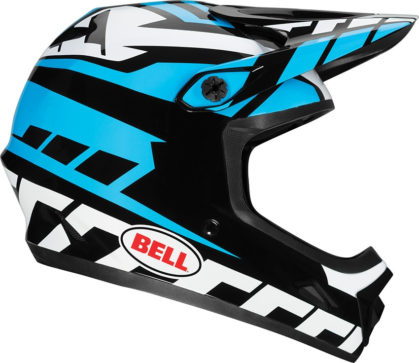 e90181d833b Blowsion. Bell Transfer-9 Helmet - Blue White