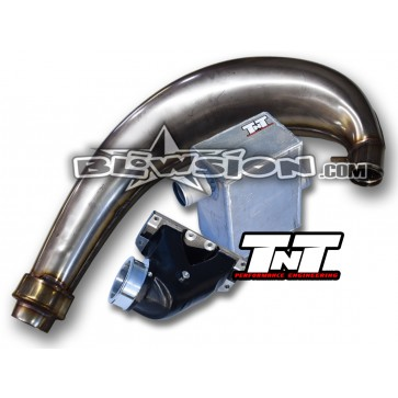 TNT V3 Stainless Exhaust Kit - Stamped