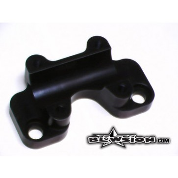 RRP Fat Bar Steering Extended Base Plate - 1-1/8""