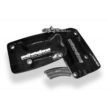 Carbon Hood Baffle Kit - 96+ Superjet
