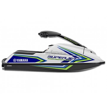 2018 Yamaha Superjet - Pure White with Blue