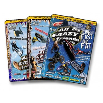 DVD SET - All My Crazy Friends - 1, 2, 3