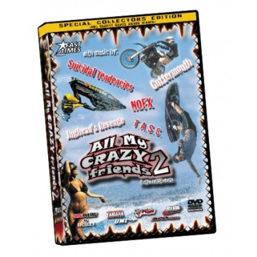 DVD - All My Crazy Friends 2