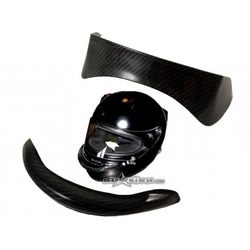 ARAI Carbon PED Front Wing and Rear Spoiler Kit