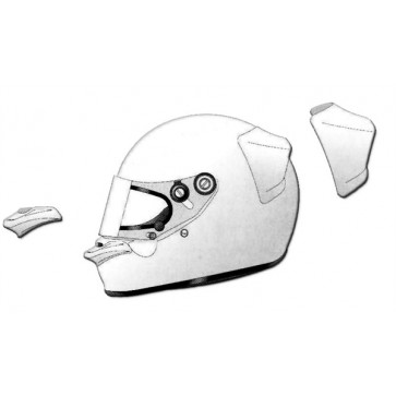 ARAI PED Rear Wing and Front Spoiler - 2064