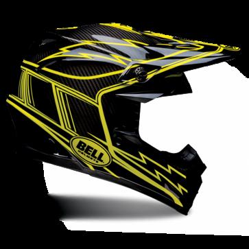 Bell Moto-9 Carbon Helmet - Hurricane