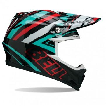 Bell Moto-9 Carbon Helmet - Tagger Scrub