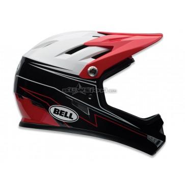 Bell Sanction Freeride Helmet - Graphic/Red Line Up