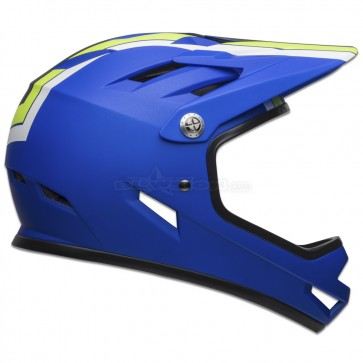 BELL SANCTION HELMET AGILITY MATTE BLUE/GREEN