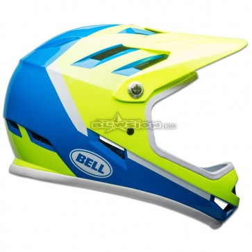 BELL SANCTION HELMET FORCE BLUE / RETINA SEAR