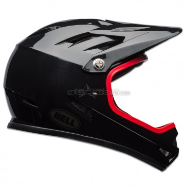 BELL SANCTION HELMET GLOSS BLACK / HIBISCUS