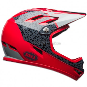 BELL SANCTION HELMET GLOSS HIBISCUS / SMOKE
