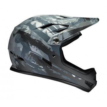 Bell Sanction Freeride Helmet - Matte Titanium Exhaust
