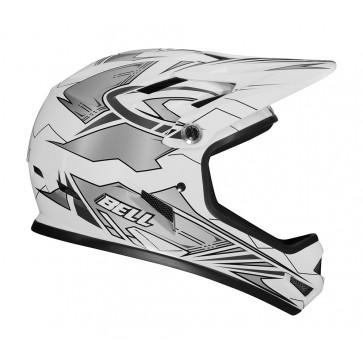 Bell Sanction Helmet - White/Silver