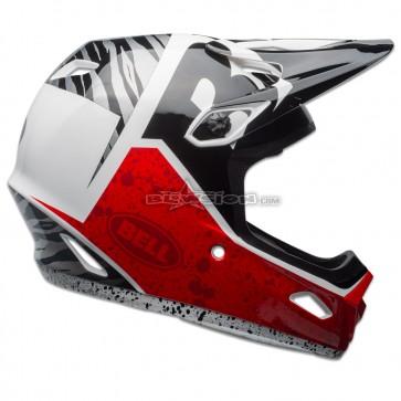 BELL TRANSFER-9 HELMET BLACK/RED/WHITE