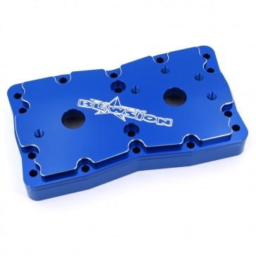 Blowsion Billet Girdled Head Kit - Yamaha - Anodized Blue