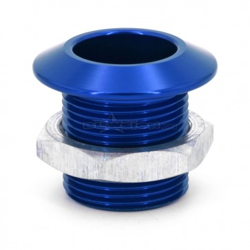 Bow Eye Bushing - Anodized Blue