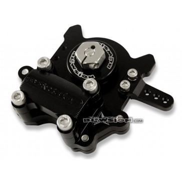 """Blowsion Steering System 1-1/8"""" Fat - Anodized Black"""