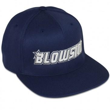 Blowsion FlexFit One Ten Snapback Hat - Navy/White