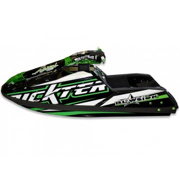 Rickter EVO FR2 - Black & Green
