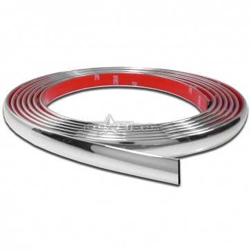 Blowsion Side Molding - 5/8 inch - Chrome - PN# 04-02-305