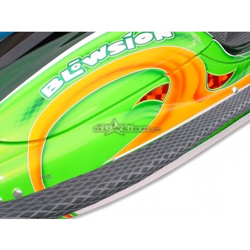 Side Rail Extension Turf Kit - Kawasaki SXR