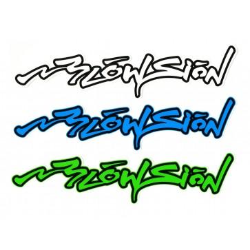 Blowsion Signature Sticker