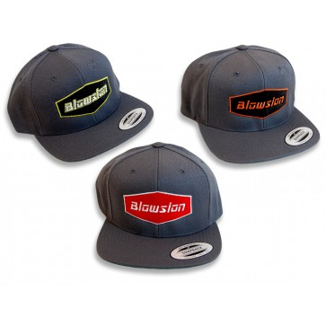 Blowsion Snapback Hat Grey - All Colors
