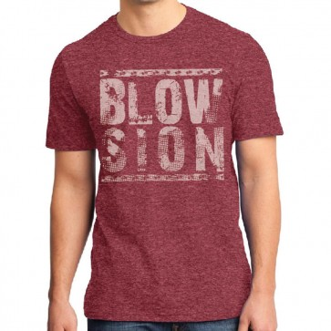 Blowsion Stacked T-Shirt Red