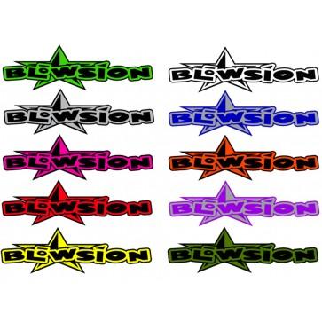 """Blowsion Bigstar Sticker - 17"""""""
