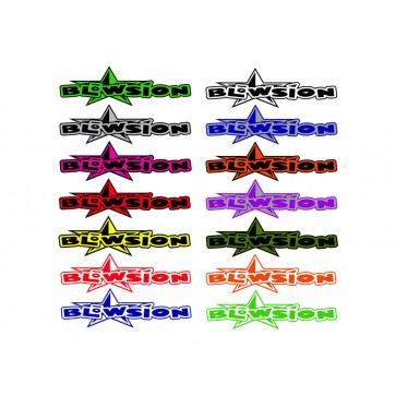 """Blowsion Bigstar Sticker - 8"""""""