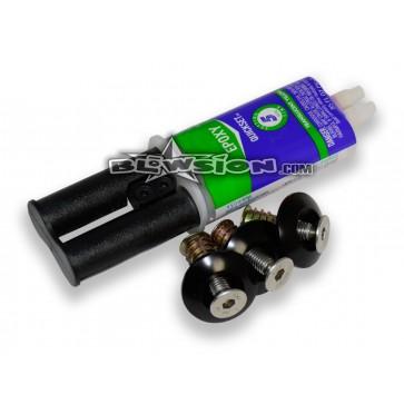 Blowsion Universal OVP Chin Pad Install Kit for OEM Yamaha Handlepole