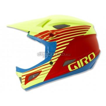 Giro Cipher Freeride Helmet - Matte Glowing Red / Highlight Yellow