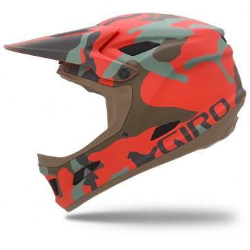 Giro Cipher Helmet - Glowing Red Camo