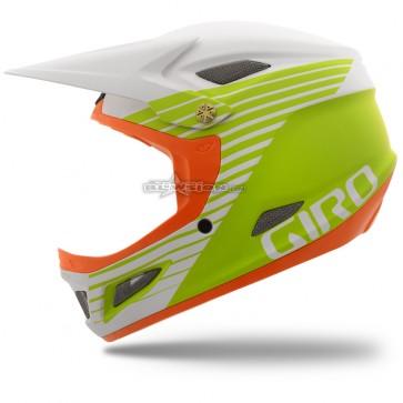 Giro Cipher Freeride Helmet - Matte White/Lime Flame