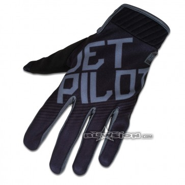 Jet Pilot Phantom Glove - Black/Charcoal
