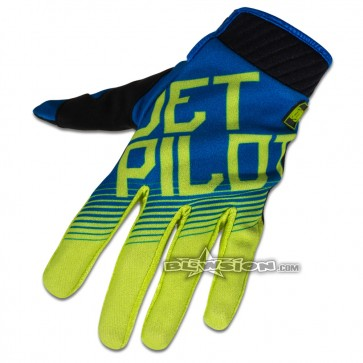 Jet Pilot Phantom Glove - Blue/Green