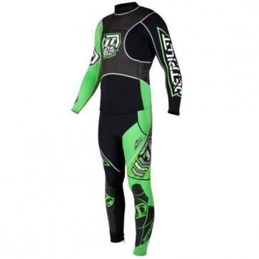 Jet Pilot Apex Race Suit - Green