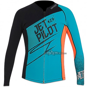 JETPILOT MATRIX JACKET TEAL/ORANGE - JP17141